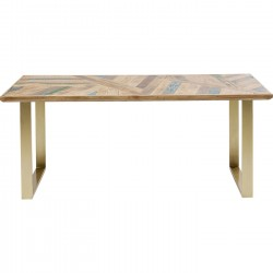 Table Abstract 180x90cm laiton Kare Design