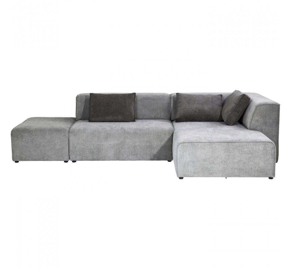 Canapé Infinity Antique Ottoman droit gris Kare Design