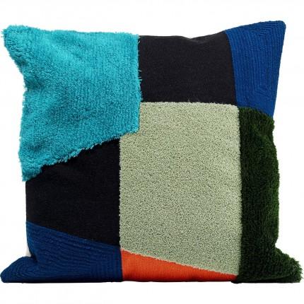 Coussin Rectangle bleu Kare Design