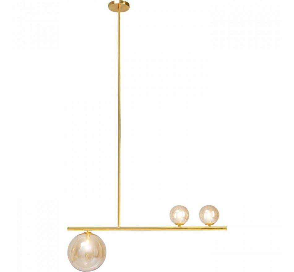 Suspension Talea dorée Kare Design
