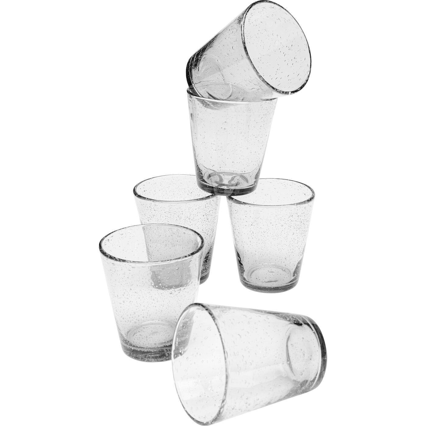 Verres à eau Bubble set de 6 Kare Design
