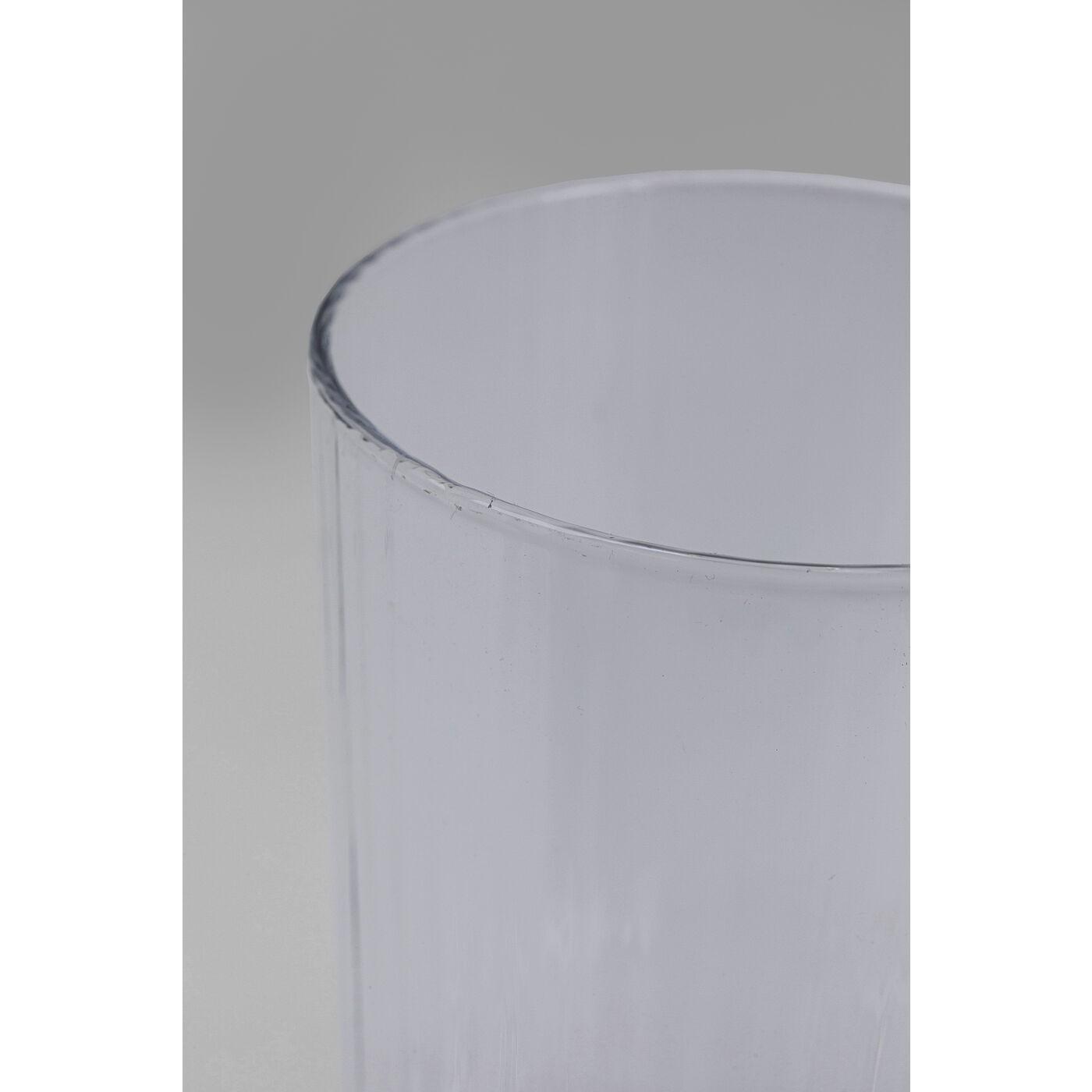 Verres à eau Riffle 16cm set de 4 Kare Design