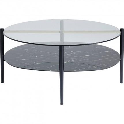 Table basse Noblesse ovale 97x91cm Kare Design