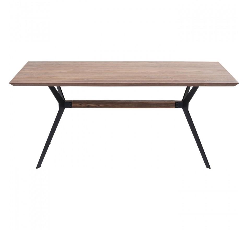 Table Downtown noyer 180x90cm Kare Design