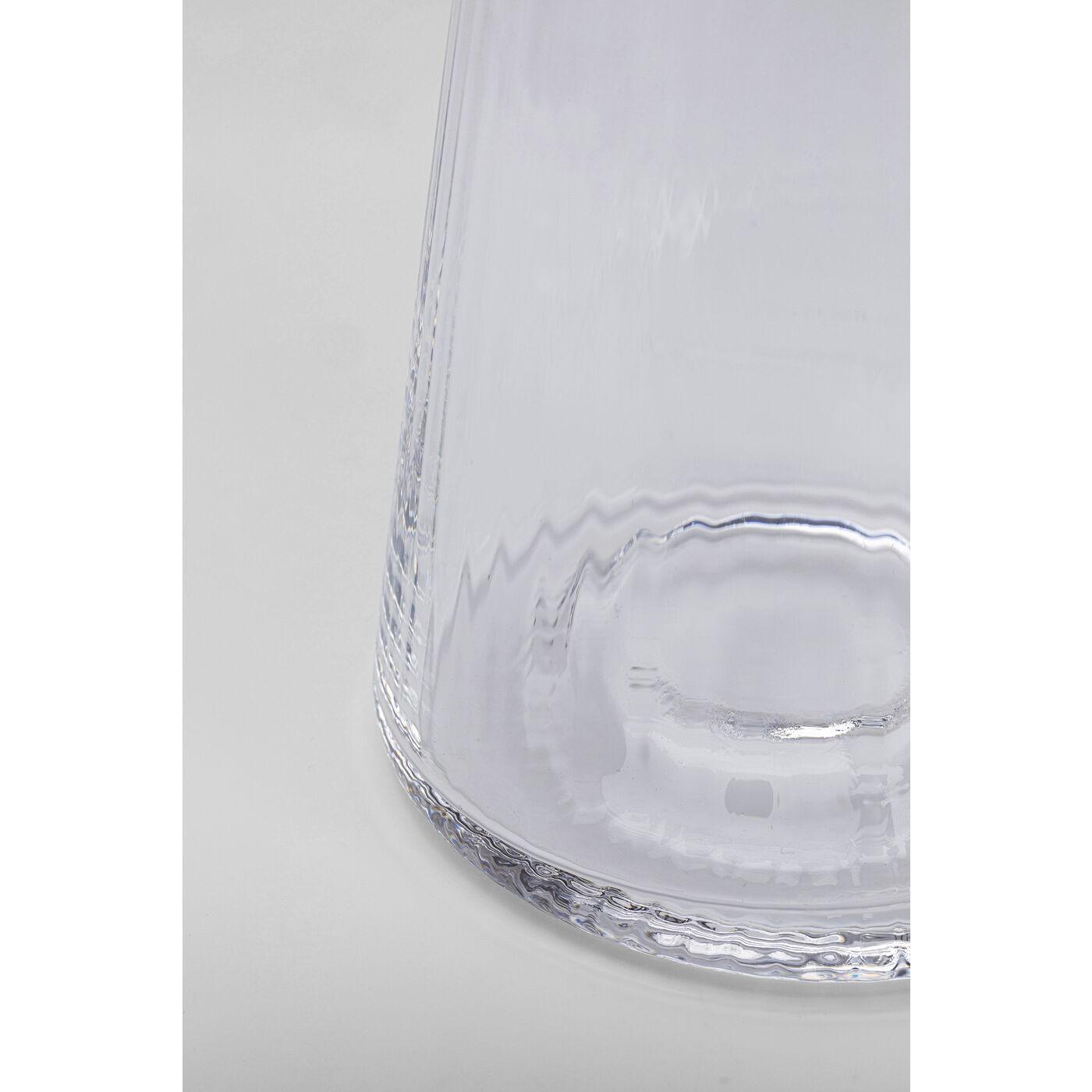 Verres à eau Riffle 11cm set de 4 Kare Design