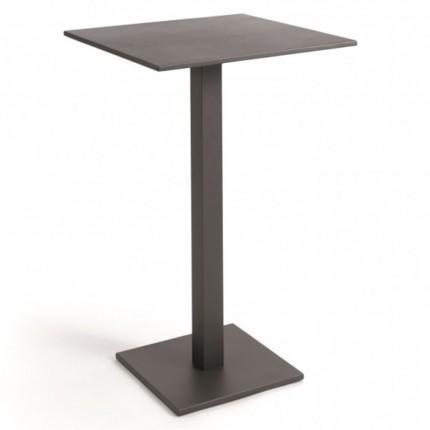 Table de bar pliante Prada gris anthracite Gescova