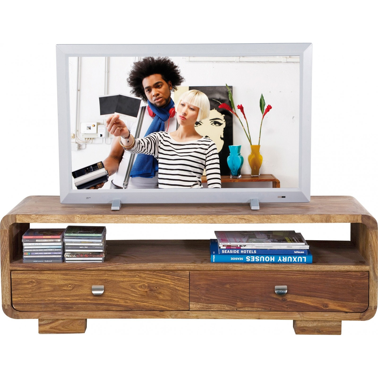 Meuble tv en bois authentico club kare design - Meuble kare design ...