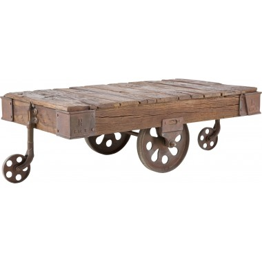 Table basse Railway 135x80cm Kare Design