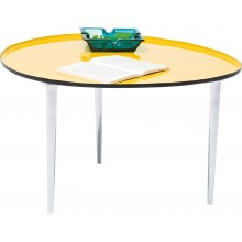 Table Basse Egg Jaune 57x62 cm Kare Design