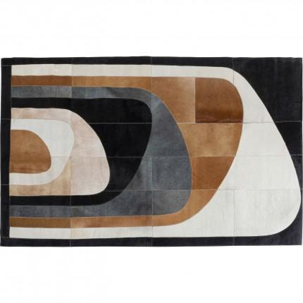 Tapis en cuir Tierra 170x240cm Kare Design