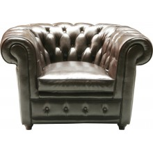 Fauteuil Oxford Cuir Kare Design