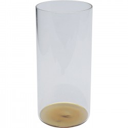 Verres à eau Electra dorés 15cm set de 4 Kare Design