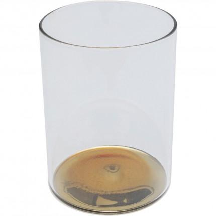 Verres à eau Electra dorés 11cm set de 4 Kare Design