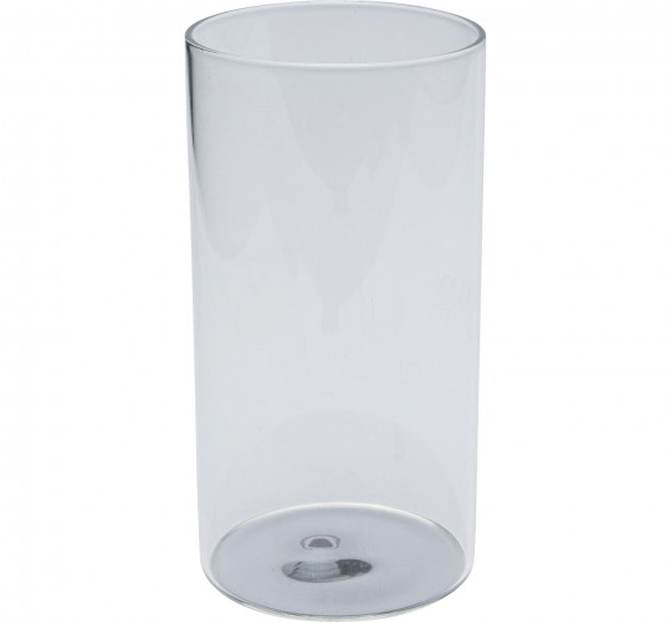 Verres à eau Electra argentés 15cm set de 4 Kare Design