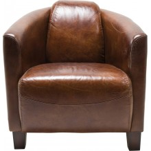 Fauteuil Semi Cigar Lounge Kare Design