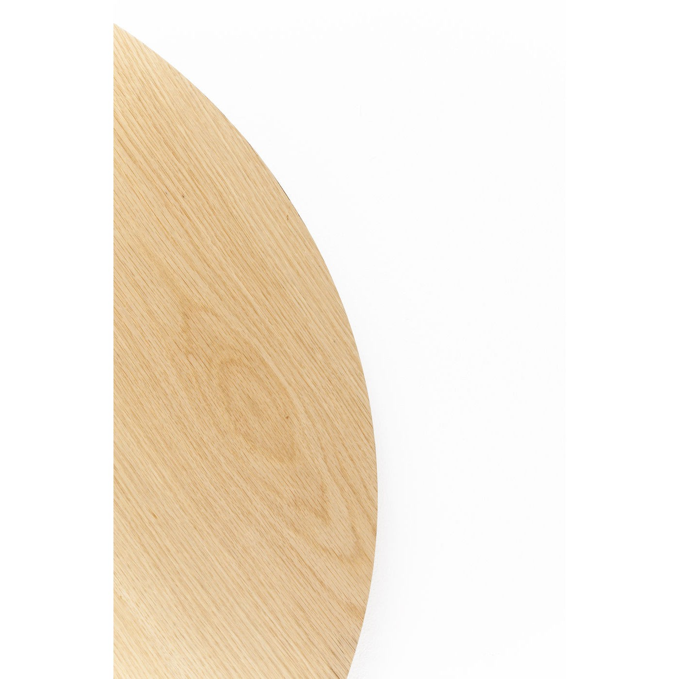 Plateau de table Invitation rond chêne Kare Design Diamètre - 90cm