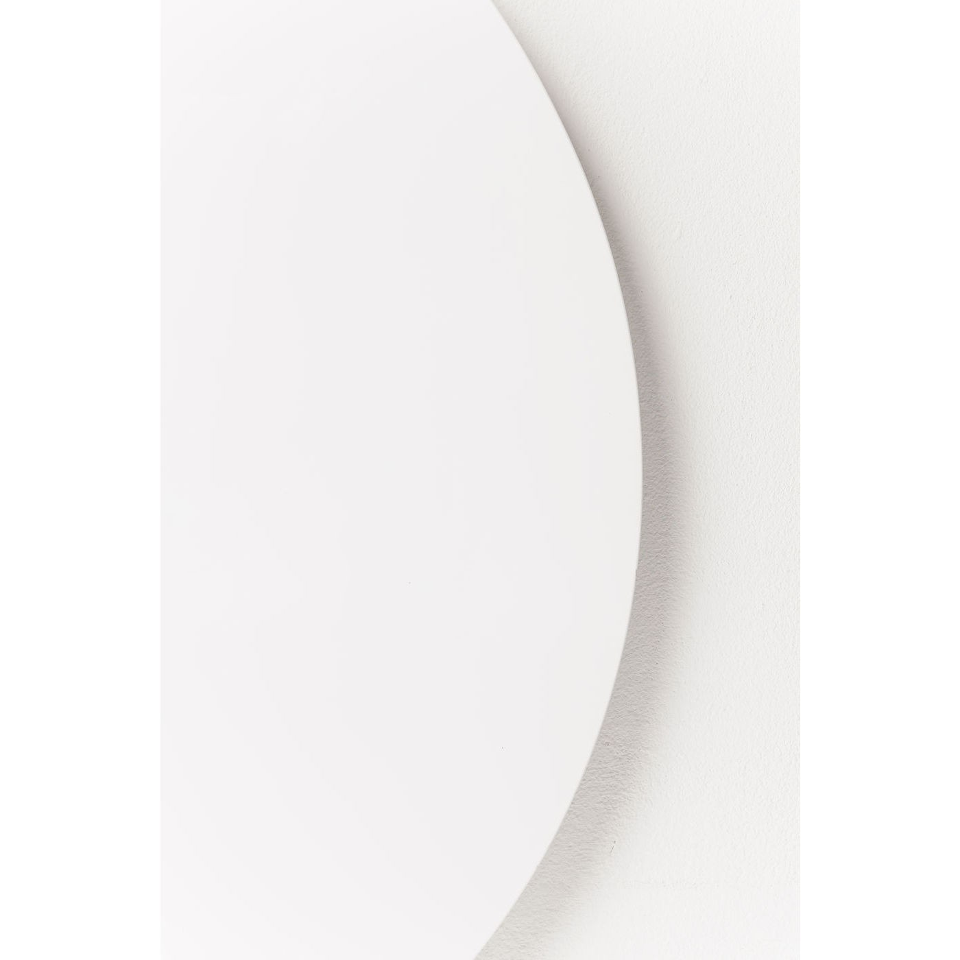 Plateau de table Invitation rond blanc Kare Design Diamètre - 90cm