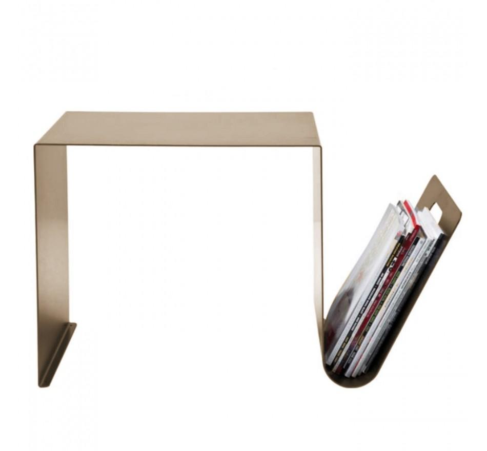 Table d'appoint Manifattura bronze 67x36cm Kare Design