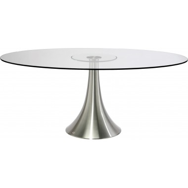 Table en verre Grande Possibilita 180x120cm Kare Design