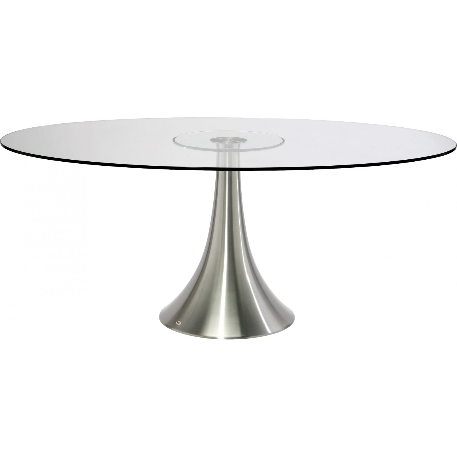 Table design verre possibilita kare design for Table de cuisine ovale