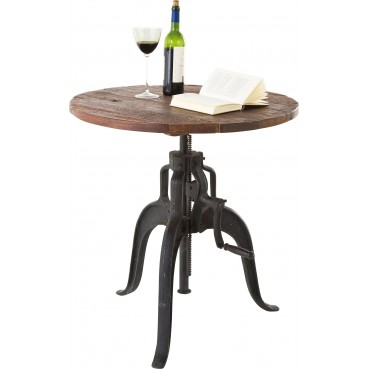 table de bistrot industrielle bois - railway - kare design