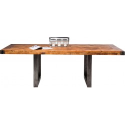 Table industrielle Off-Road 220x100cm Kare Design