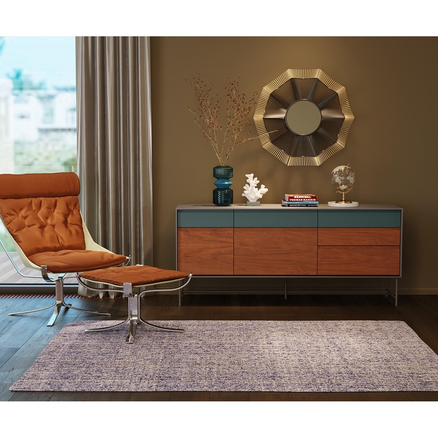 Fauteuil et repose-pieds Washington Kare Design
