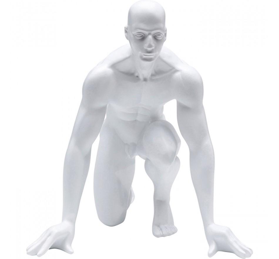 Déco coureur blanc 25cm Kare Design