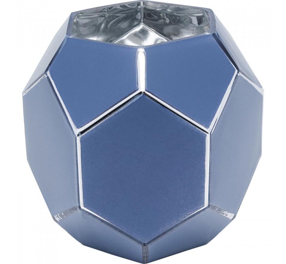 Vase Art Pastel bleu 17cm Kare Design