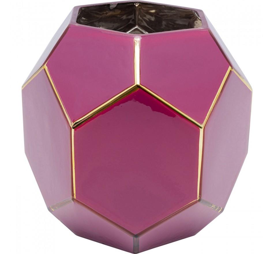 Vase Art Pastel rose-violet 22cm Kare Design