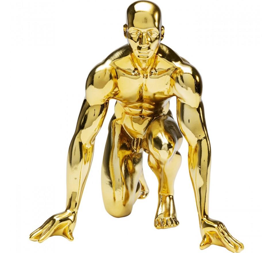 Déco coureur doré Kare Design