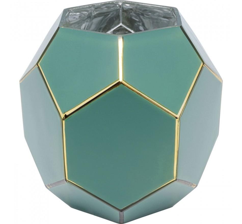 Vase Art Pastel vert 22cm Kare Design