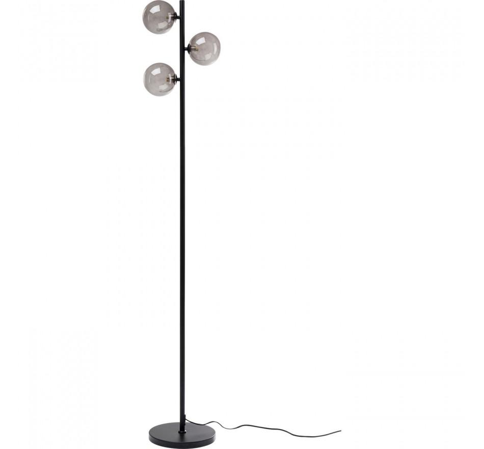 Lampadaire Three Balls noir 160cm Kare Design