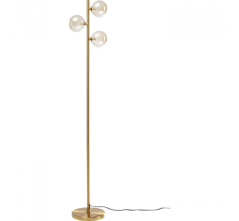 Lampadaire Three Balls doré 160cm Kare Design