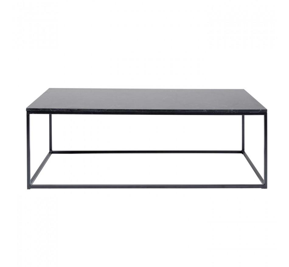 Table basse Key West noire 120x60cm Kare Design