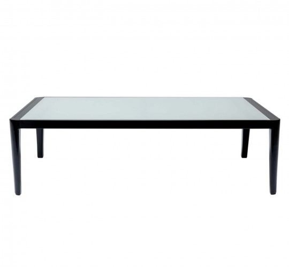 Table basse Tiki noire Kare Design