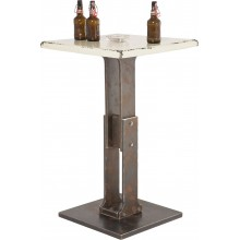 Table Bar Key Blanche 65x65 Kare Design