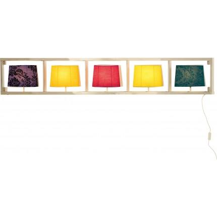 Applique parecchi horizontal chrome Kare Design