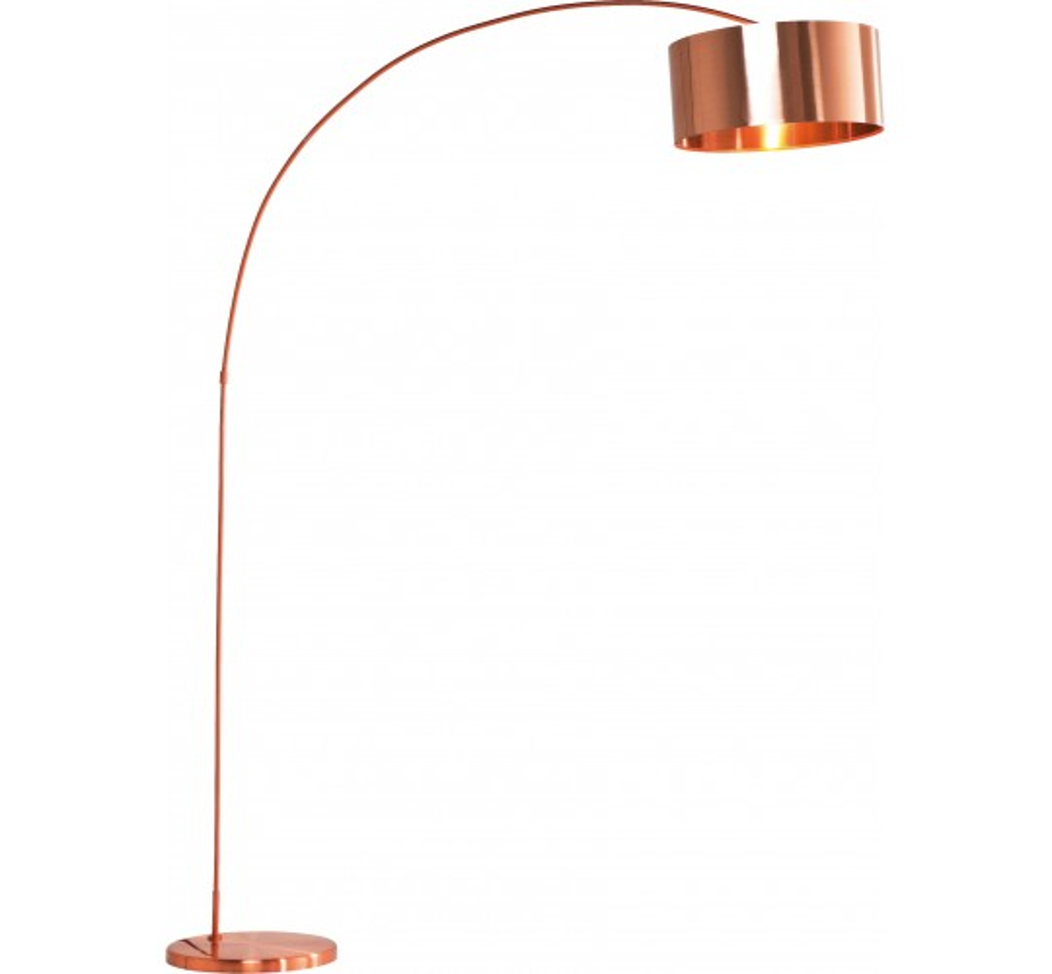Lampadaire Gooseneck Copper Kare Design