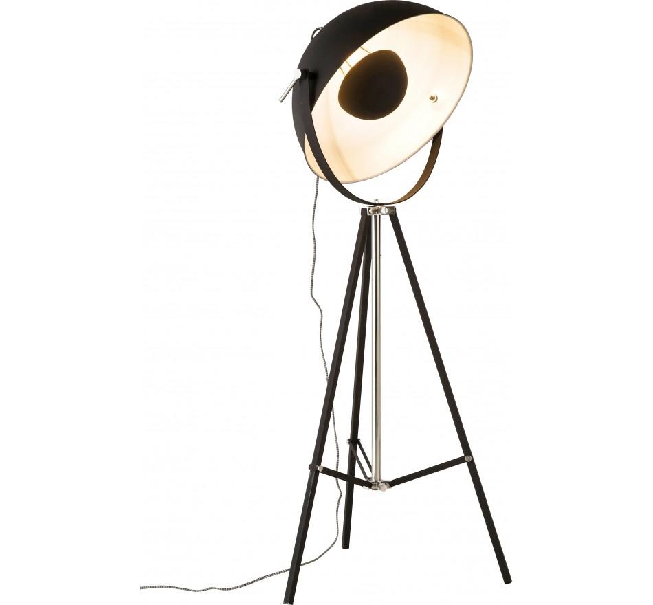 Lampadaire Bowl 160cm noir Kare Design