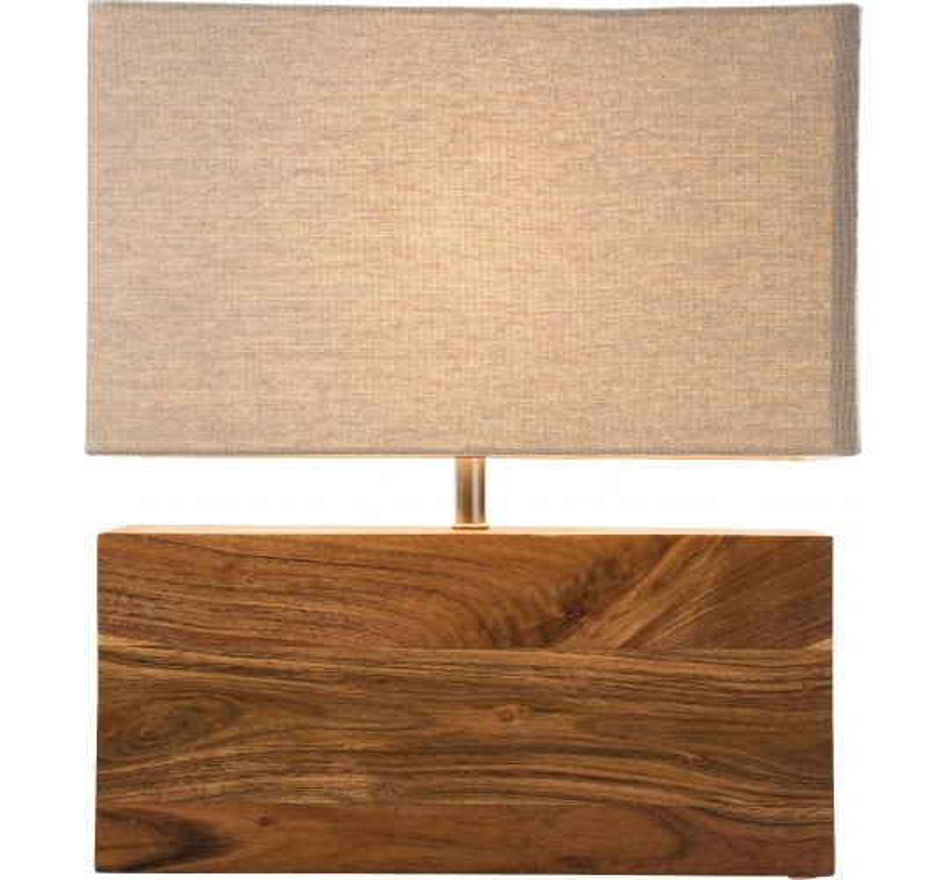 Lampe de Table Rectangulaire Wood Nature Kare Design