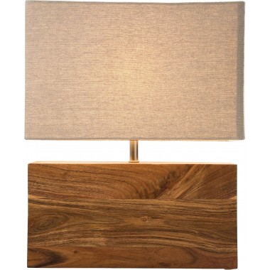Lampe de table Rectangular coton Kare Design
