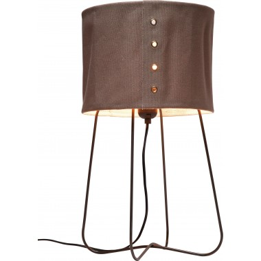Lampe de table Rivet marron Kare Design