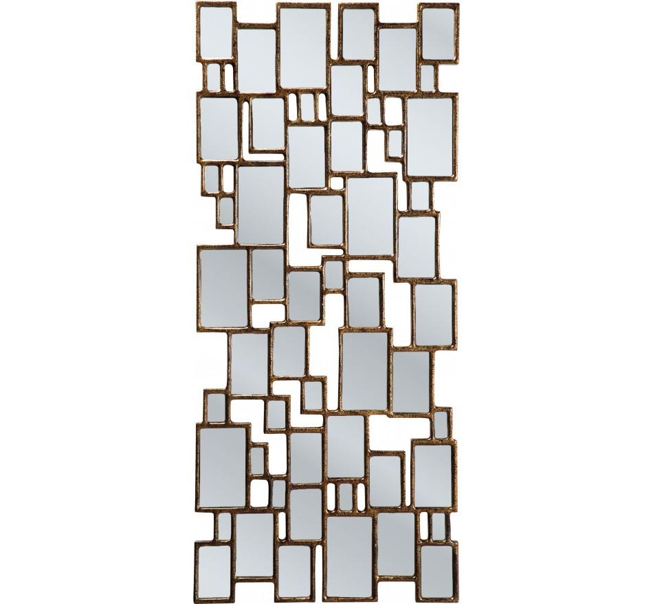 Miroir Cubes Copper 132x54cm Kare Design