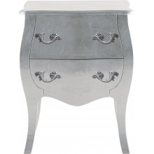 Commode  de chevet romantic argent  Kare Design