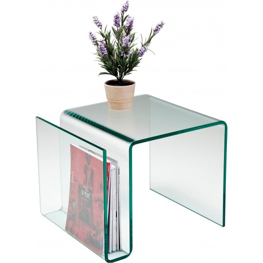 Table d'appoint Newspaper Clear Club Kare Design