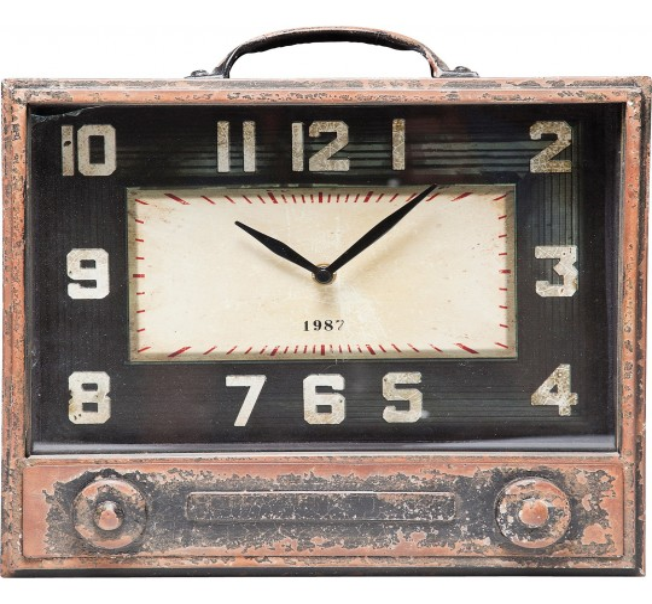 Horloge de Table Radio Storage Kare Design