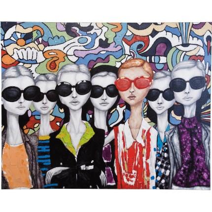 peinture à l'huile Sunglasses 120x150 Kare Design