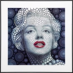 Tableau Marilyn 3D 60x60 cm Kare Design