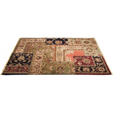 Tapis Persian Patchwork 240x170 Kare Design